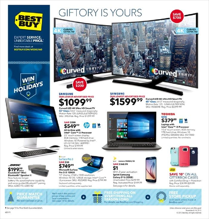 Best Buy Weekly Ad November 1 7 2015 Weekly Ads And Circulars November 2015 Us Retailers And Groceries Postin Cool Things To Buy Ads Best Buy Electronics