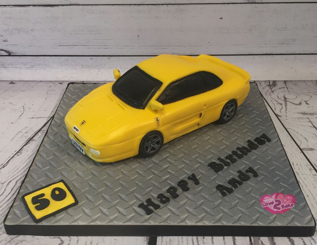 Ferrari 355 car cake by love2bake feb 2017 love2bake cakes ferrari 355 car cake by love2bake feb 2017 baditri Gallery