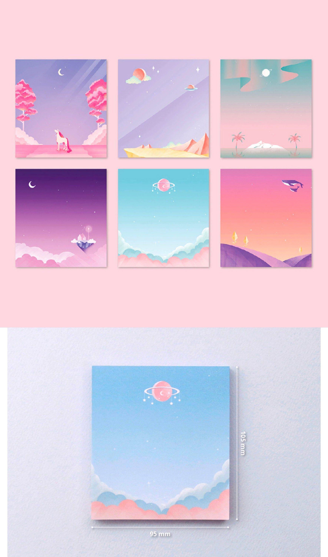 MOONLIGHT NOTEPAD | Colorful Memo | Memopad | Notepad | Christmas Gift | Korean Stationery | Notebook | Unicorn Memo | Scrapbooking | Whale -  chloe <3  - #animecute #animedibujos #animefemale #animekiss #animemanga #animemujer #animequotes #animeshows #Christmas #colorful #gift #Korean #Memo #Memopad #moonlight #Notebook #NOTEPAD #Scrapbooking #Stationery #unicorn #whale