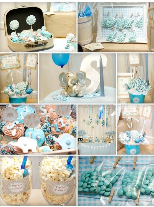 Mesa cumple 1 a o ideas cumplea os pinterest bonbon - Decoracion para cumpleanos de 1 ano de varon ...