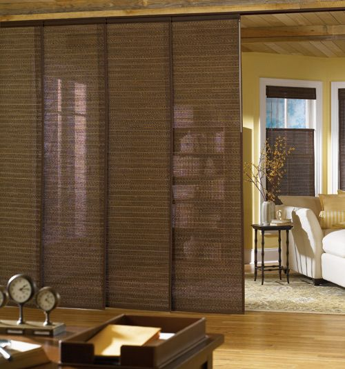 Bali Home Design Ideas: Bali® Sliding Panels: Textures & Patterns Solar Shades