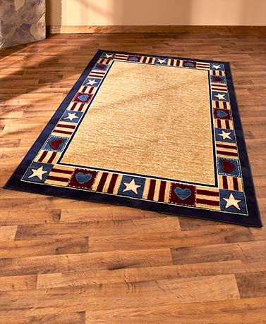 Country-Themed Rug Coordinates
