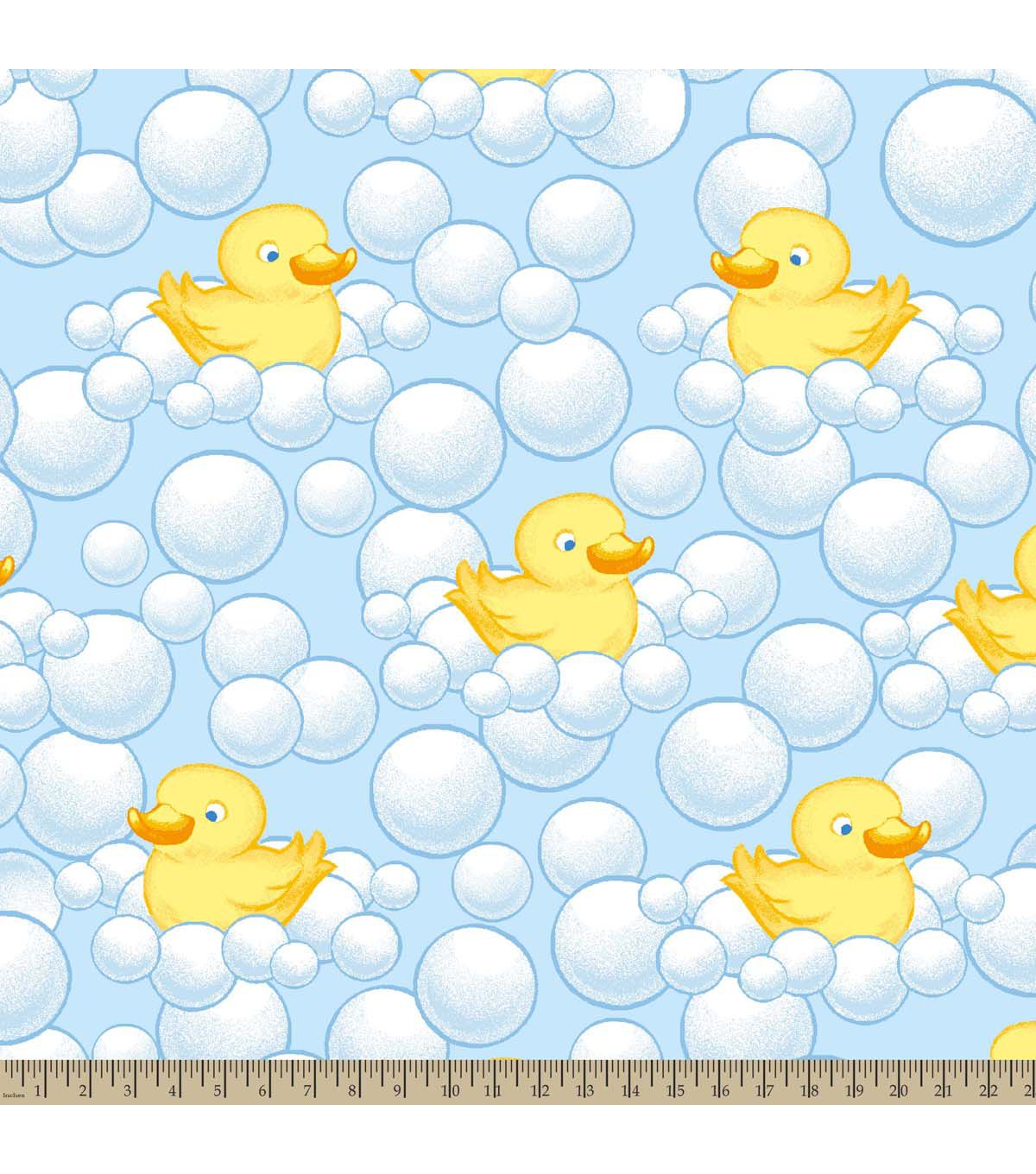 Nursery Fleece Fabric Bubble Duckie Pinterest Fabrics and Products