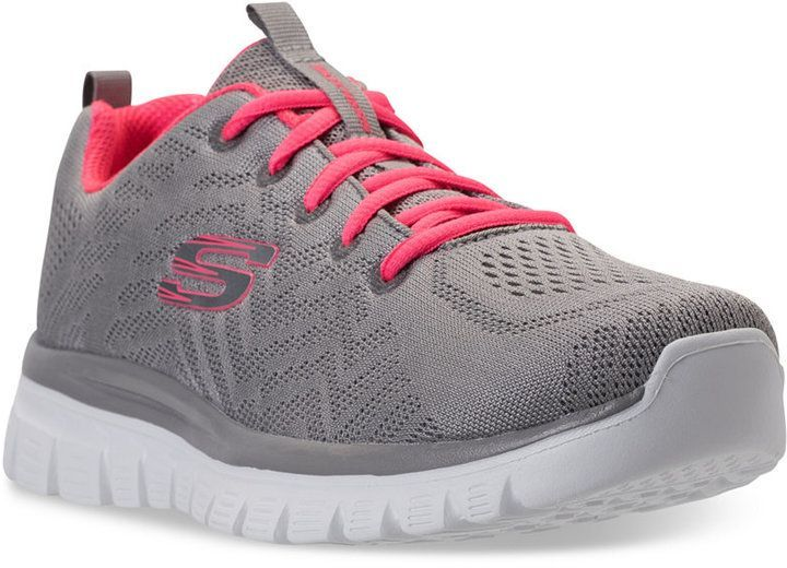 Skechers Women S Graceful Get Connected Athletic Sneakers From