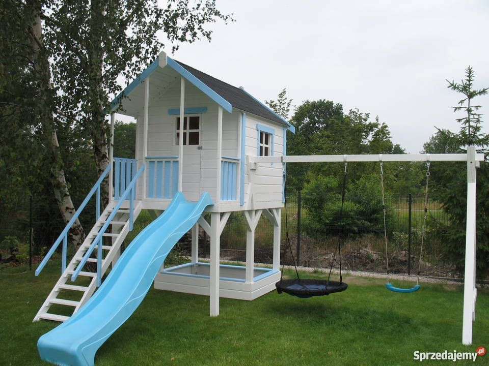 plac zabaw ,domek , ślizg zjeżdżalnia, domek dla dziecka   DOMEK ...