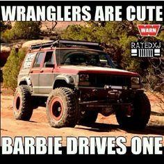 Wrangler Vs Cherokee Google Search Jeep Jokes Jeep Xj Jeep Memes