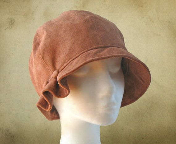 SEWING PATTERN Madeline 1920s Cloche Hat for by ElsewhenMillinery ...