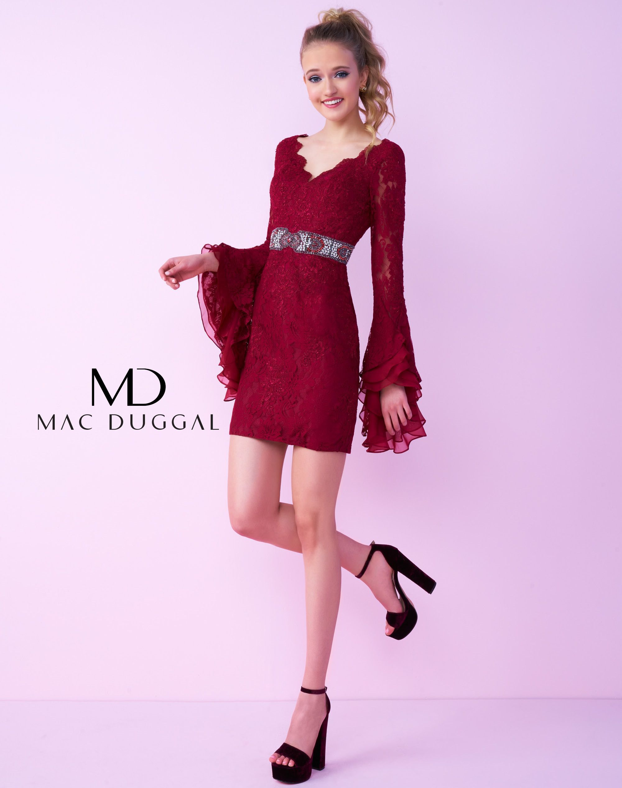 d7c578f5216 Mac Duggal Homecoming 48541N