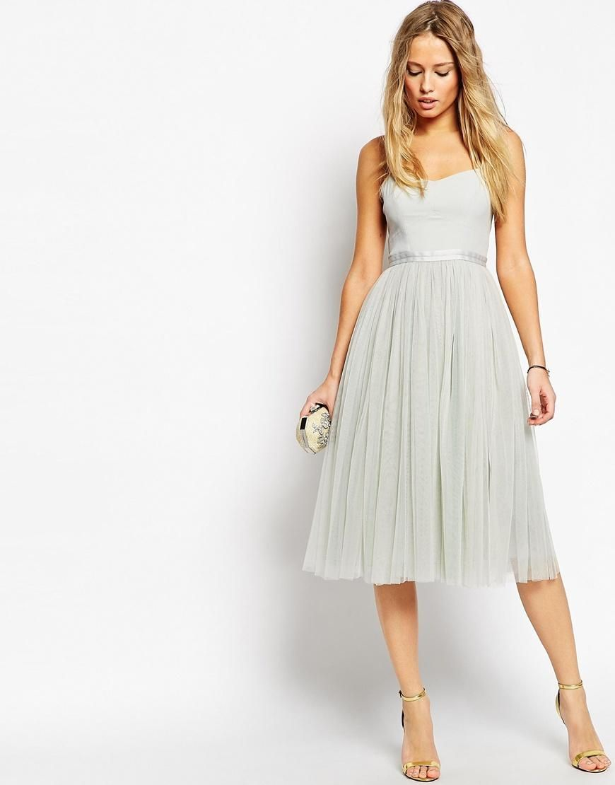 a78eb85d Needle & Thread | Needle & Thread Giselle Ballet Midi Dress at ASOS ...