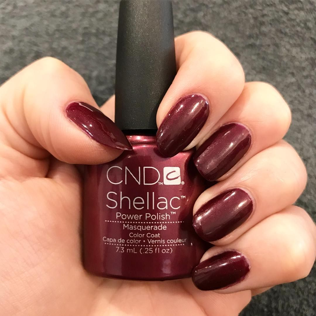 CND Shellac Luxe in Wildfire #CND #CNDShellac #Shellac #