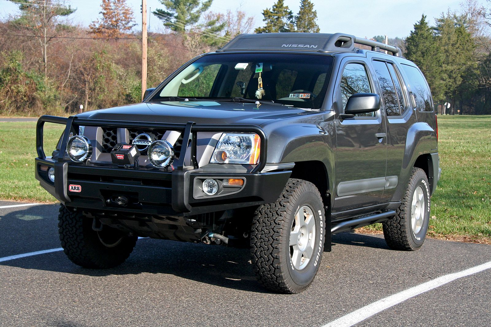 MLO Vehicle Build 2007 Nissan Xterra Overland Products