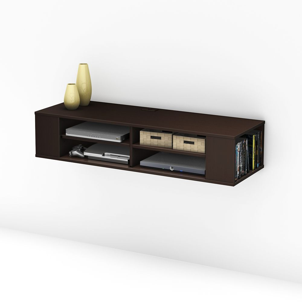 Console M Dia Murale City Life Chocolat Salon Pinterest  # Meuble Tv Chocolat