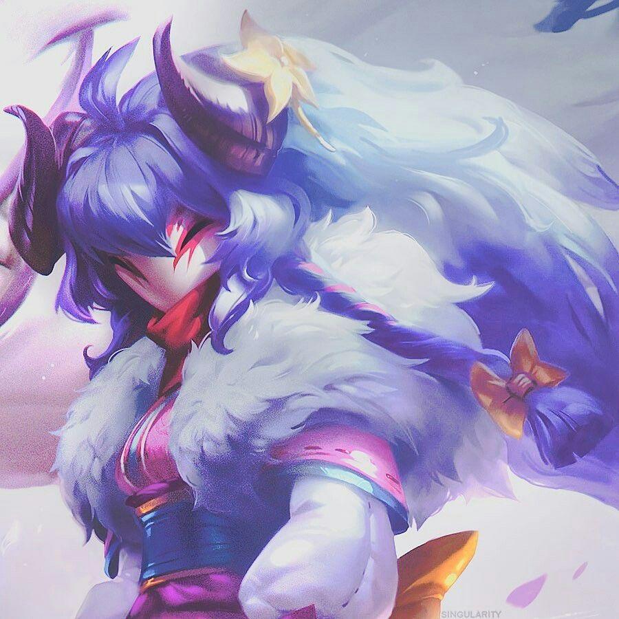 Pin De Ivia Em Matching Icons Leona League Of Legends Criaturas Estranhas Anime