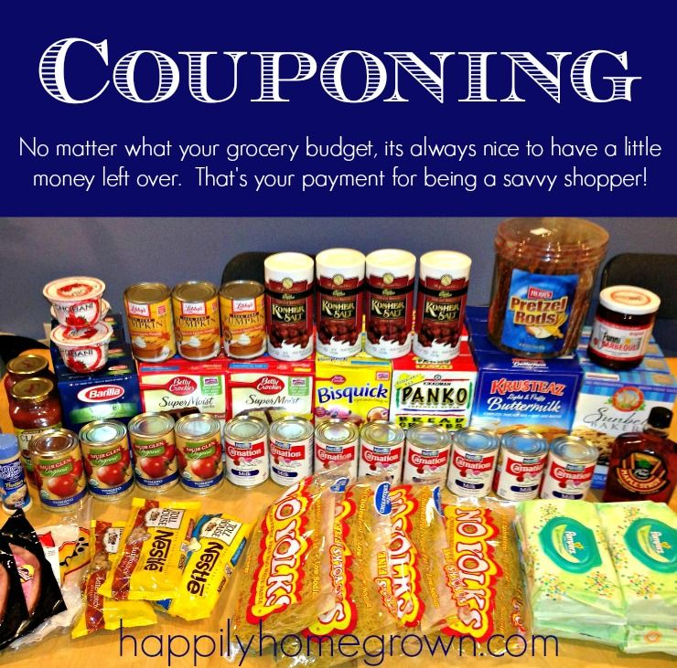 No matter what your grocery budget, its always nice to have a little money left over thanks to coupons. That's your payment for being a savvy shopper! via @homegrownhuston