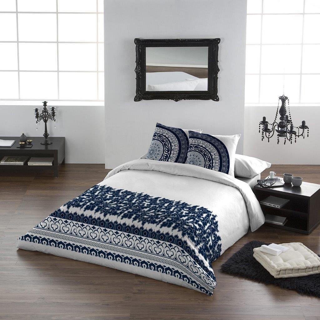 Fabelhaft Bettwäsche Cool Dekoration Von Tiefes #dunkelblau Im #boho Look: Dieses Set