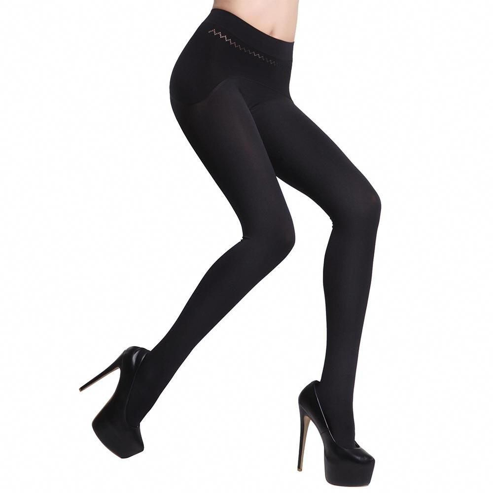 00c4033b4a9 180D Control Top Women Hosiery Ladies Silky Tights Black  stylishclothes