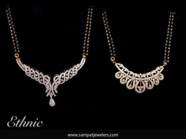 Mangalsutra designs you will adore joya designer diamond mangalsutra aloadofball Gallery