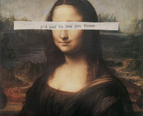Pin By Mona Mae On Backgrounds: Mona Lisa # Frown # Panic At The Disco # Patd