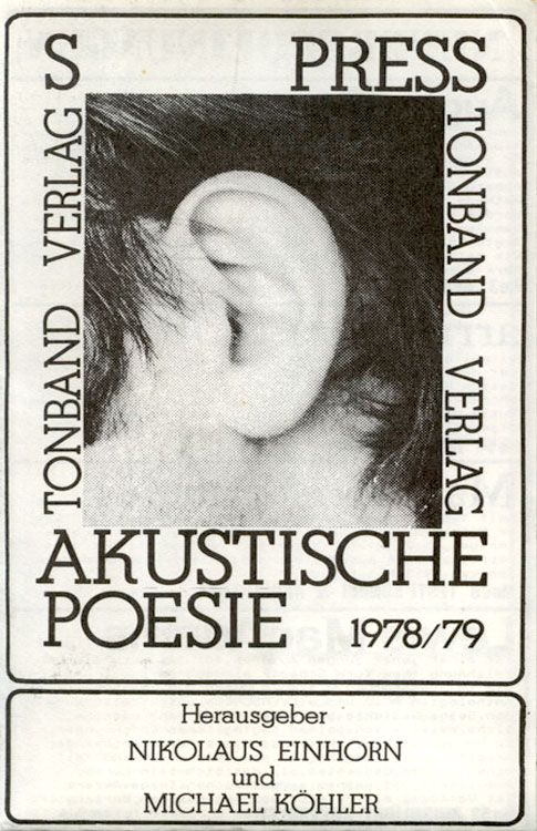 Some tapes from the S Press Tonbandverlag sound... - Continuo's documents