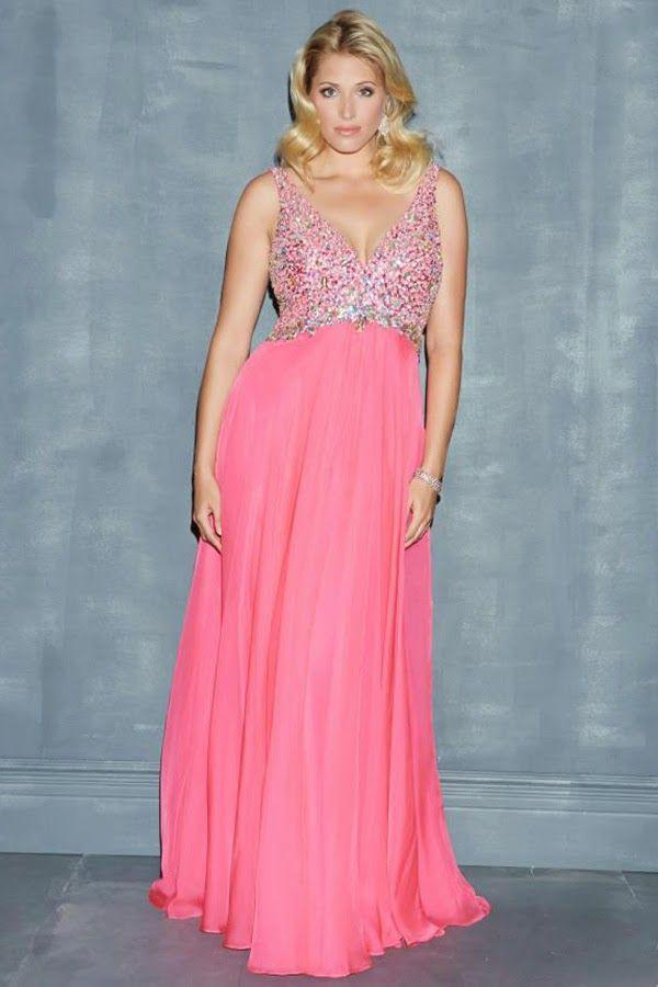 vestidos de fiesta para gorditas | Moda | vestidos Mili | Pinterest ...