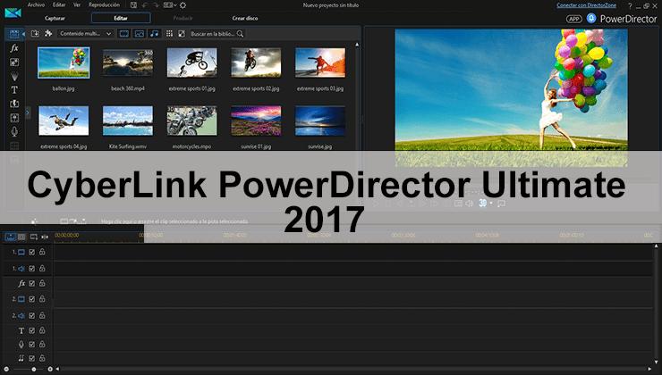 Cyberlink Powerdirector Ultimate V19 1 2407 0 Full Español Mega Edicion De Video Videos Edicion