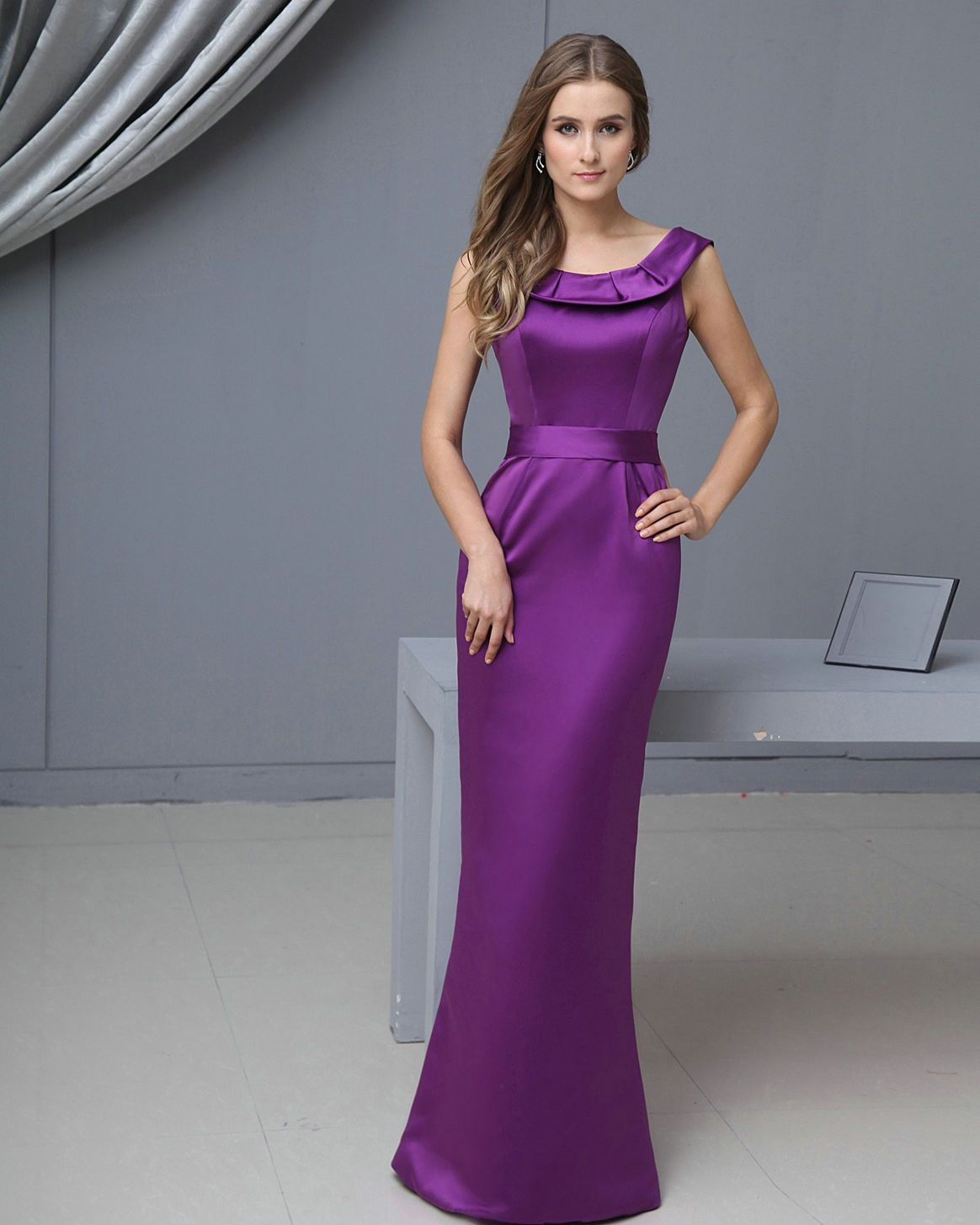 bridesmaid-dresses-purple-long- | Long Bridesmaid Dresses | Pinterest