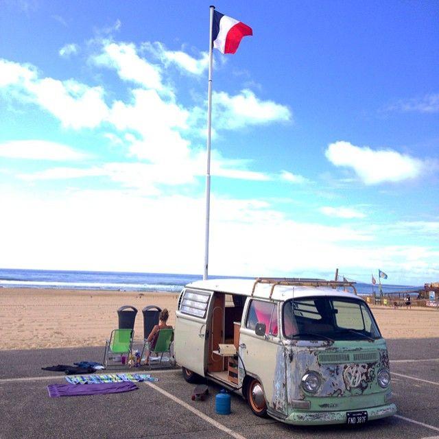 la plage, france | home is wherever you park