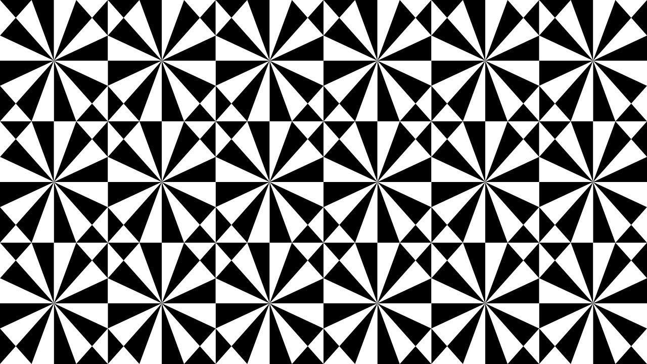 geometric shapes design in tutorial coreldraw black and white - 13