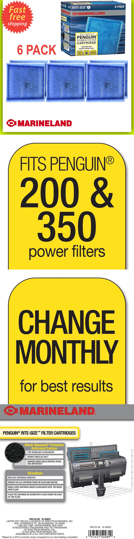 Penguin Marineland Filter Power 6 Pack Rite Size C ...