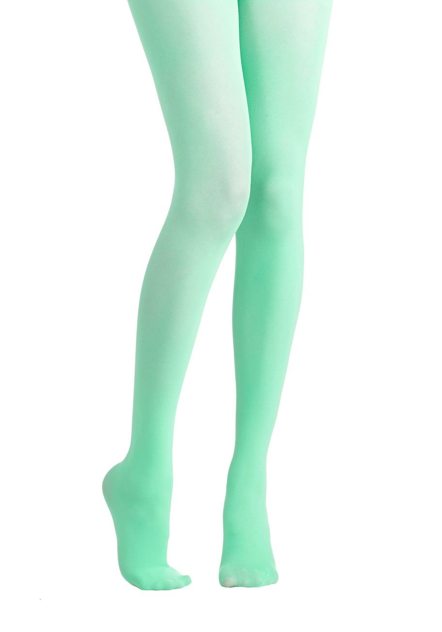 fd108ac5fea0c Tights for Every Occasion in Mint. Searching for that special shade of  tights for your upcoming event? #mint #modcloth