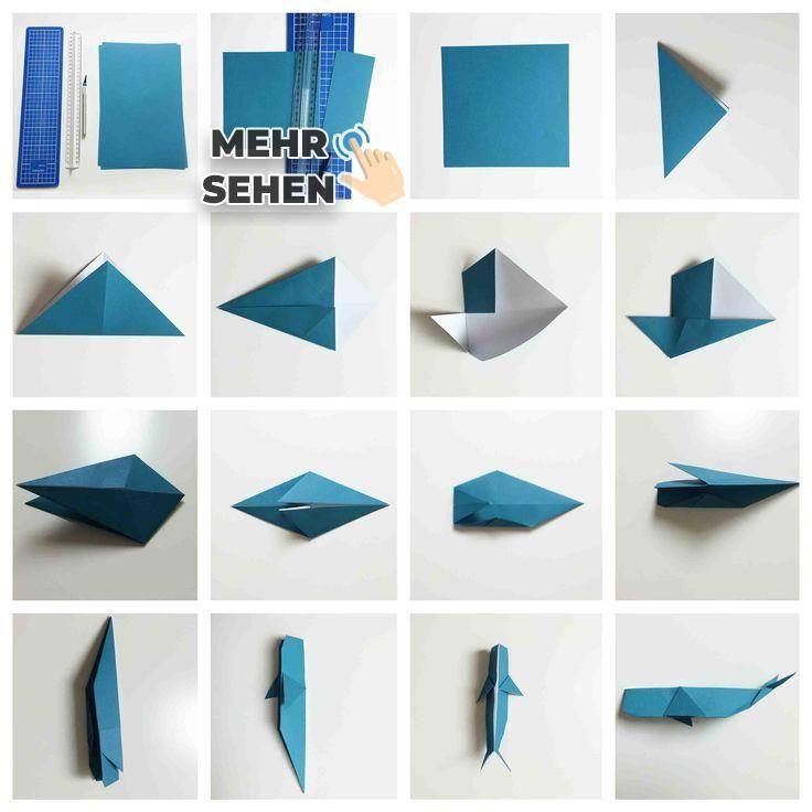 DIY Martim Spezial - #   Origami, Artesanato, Baleias