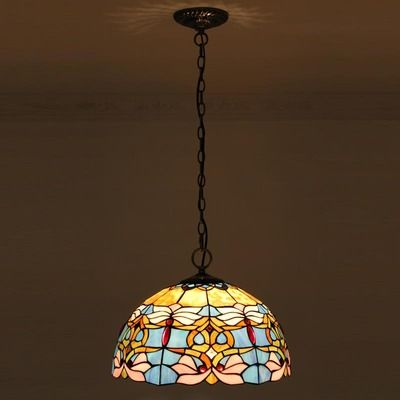 Sunset Beach Tiffany Pendant Lamp
