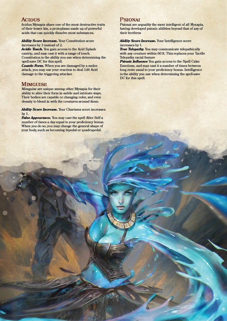 Pin by Jason Stanifer on D&D Homebrew | Dnd races, Dnd 5e homebrew