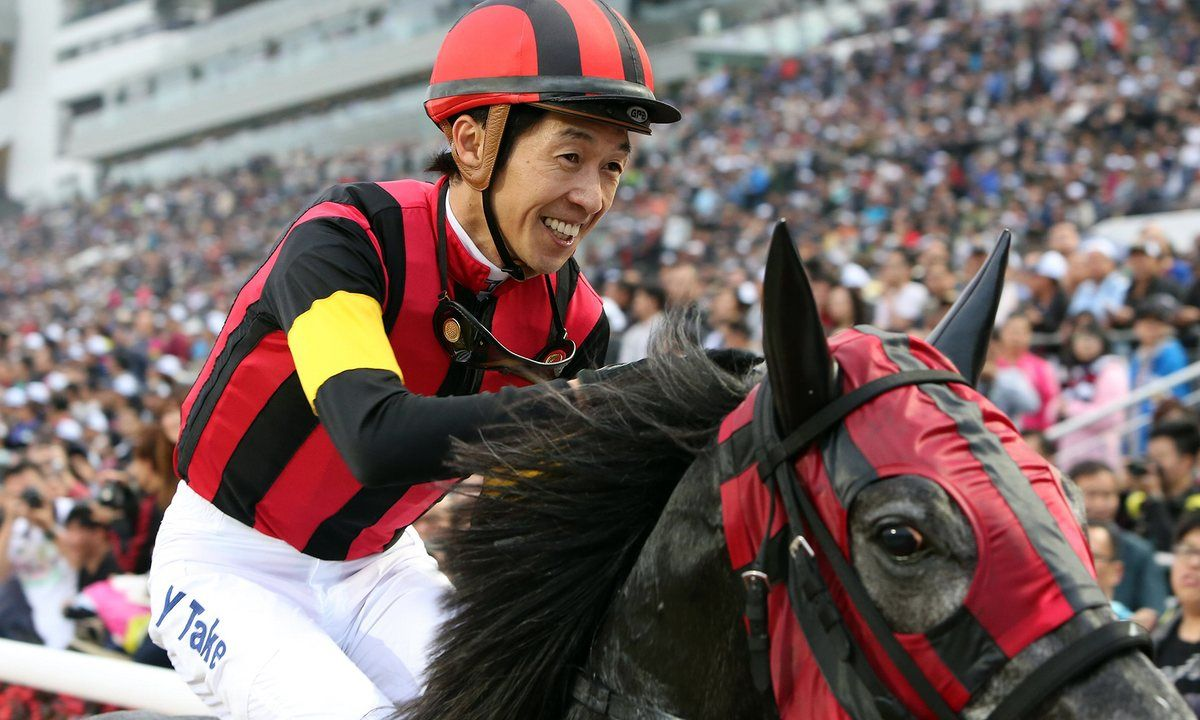 The Japanese runner is now the hot favourite for the Prince Of Wales's Stakes after Yutaka Take rode the horse to an easy ten-length victory at Chantilly