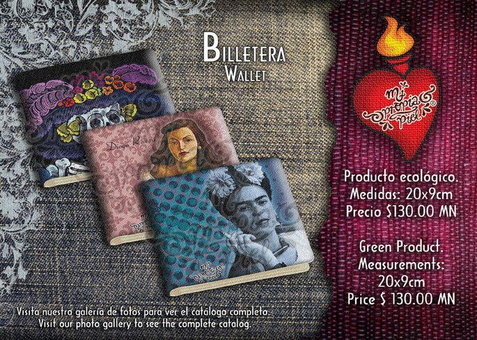 Billeteras de Frida Kahlo