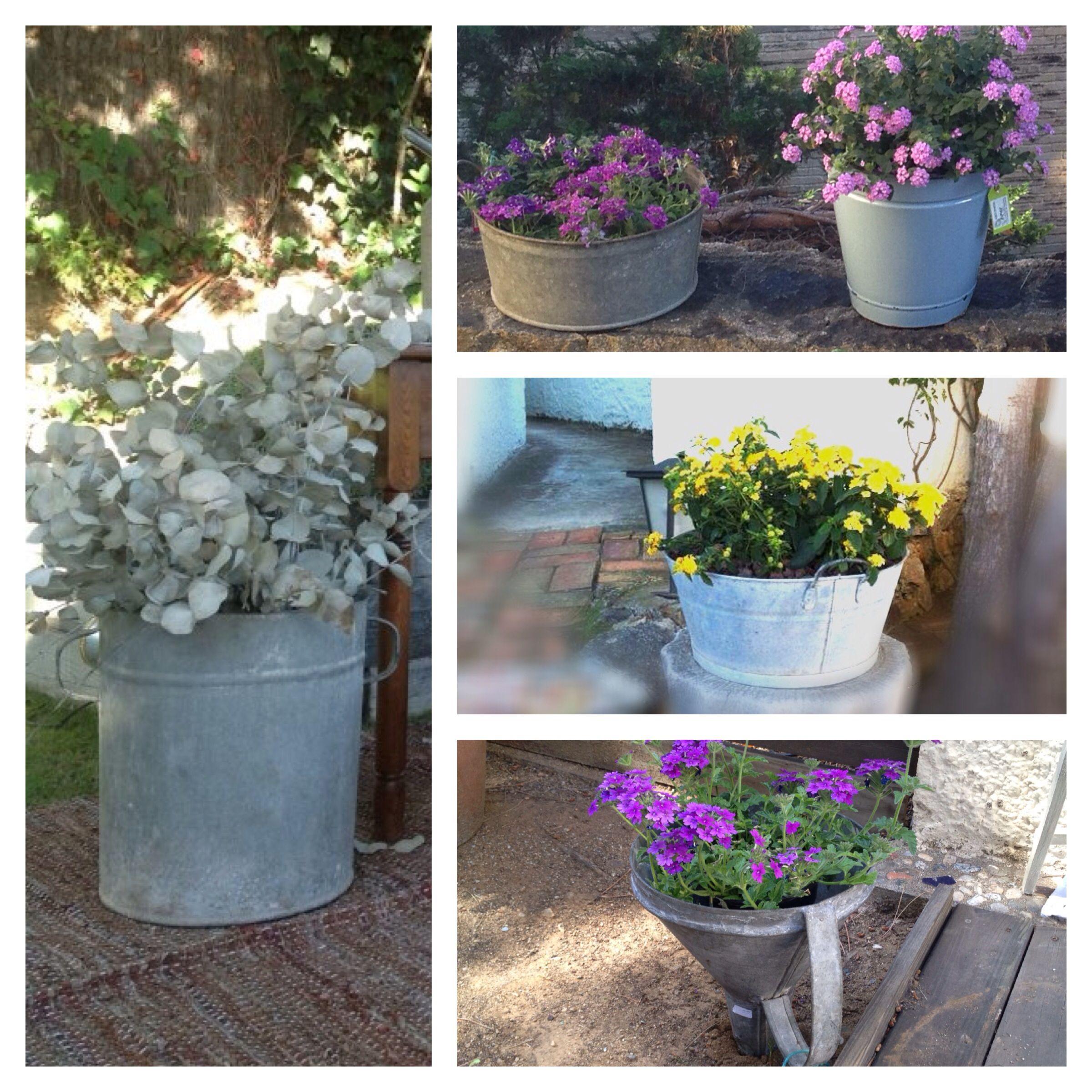 Objetos de zinc para jardines y terrazas garden for Objetos de jardineria