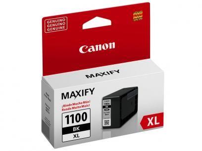 Cartucho Canon PGI 1100XL - Preto com as melhores condições você encontra no Magazine Jbtekinformatica. Confira!