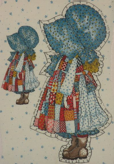 Holly Hobby Quilt Patterns Holly Hobbie Sunbonnet Sue And Sam Pinterest Holly