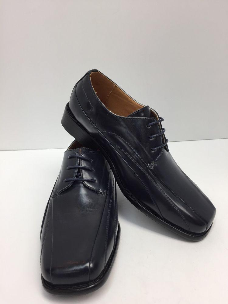 Boys' Navy Blue Dress Shoes Hugo