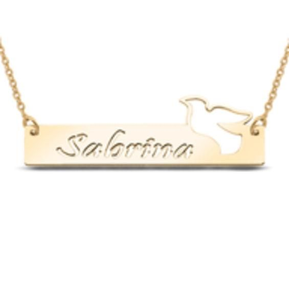 Zales Offset Name Bar Necklace (1 Name) ZFNfpf