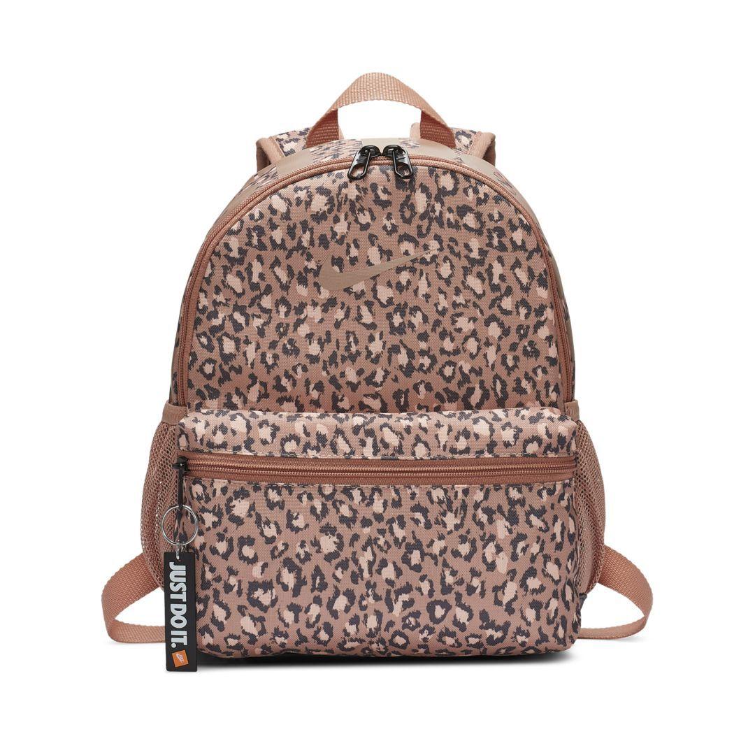 b78bf717e5084 Nike Brasilia JDI Kids' Printed Backpack (Mini) Size ONE SIZE (Rose Gold)