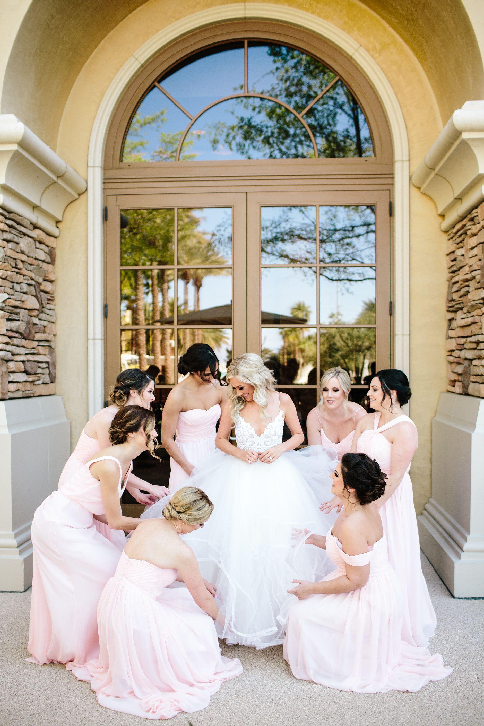 Hayley paige dress las vegas wedding planner revere country club