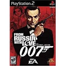 James Bond 007 From Russia With Love Playstation 2