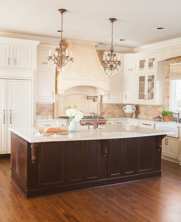 White Cabinet Kitchens Pinterest