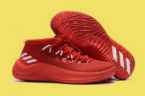new product 68600 f176c Legit Cheap adidas Dame 4 Chinese Red White