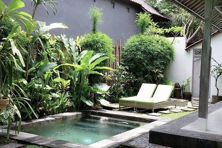 Private Tranquil Pool Villa Houses For Rent Small Pool Design Small Backyard Pools Small Pools