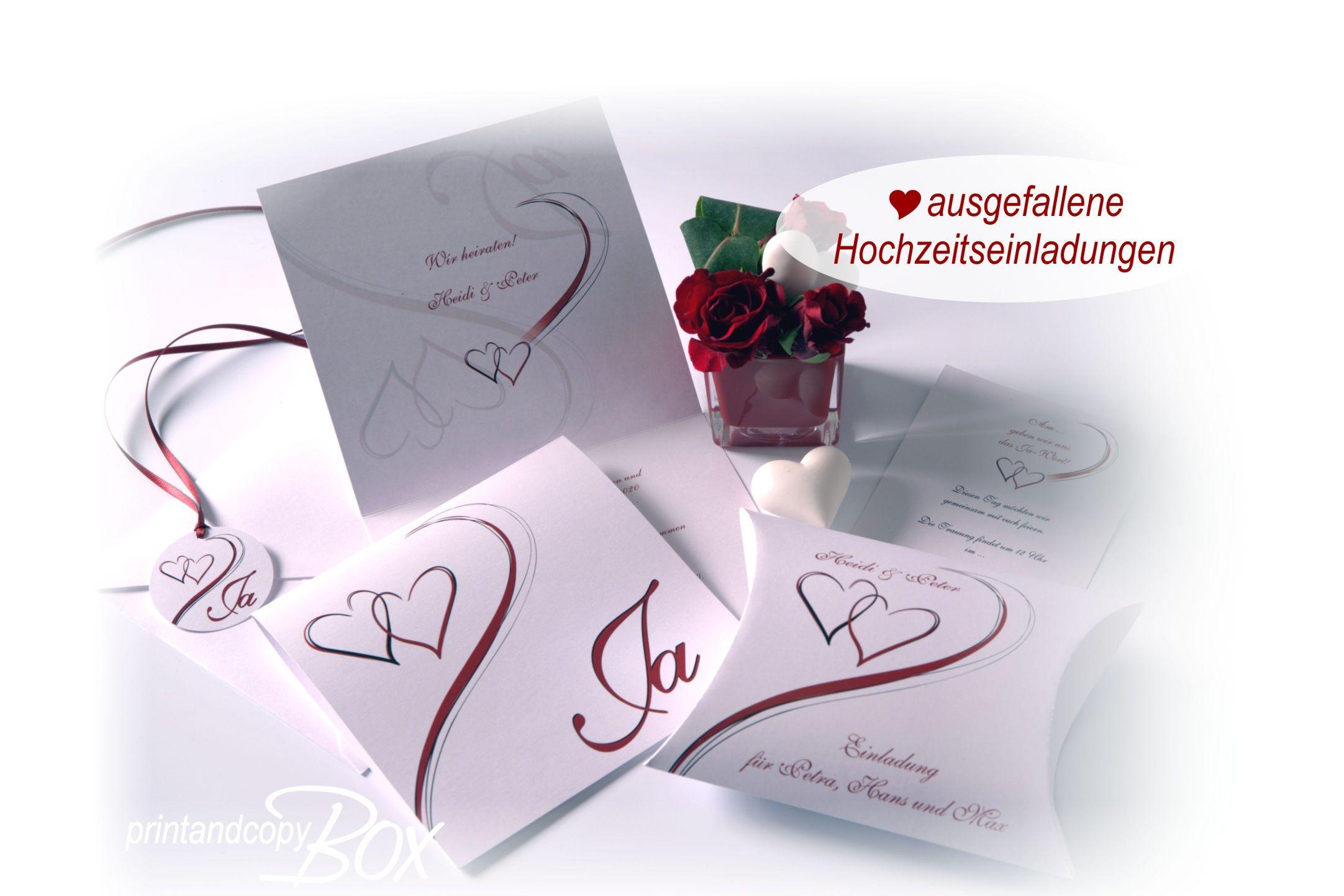 Elegante Hochzeitseinladungen, Die Nicht Jeder Hat. Die Einladungskarte Und  Die Box Mit Der Schriftrolle