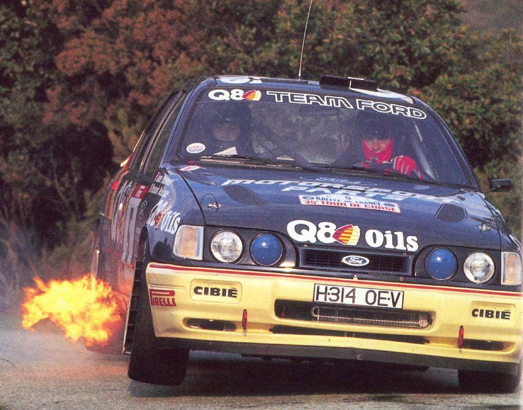 Ford Sierra Cosworth ラリーカー マッスルカー レースカー