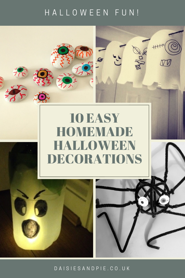 10 Easy Homemade Halloween Decorations For Kids To Get Busy With