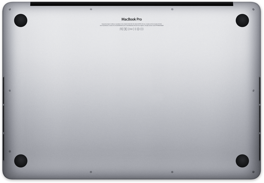 Apple MacBook Pro with Retina display Design Laptop